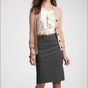 Gray pencil skirt by Halogen